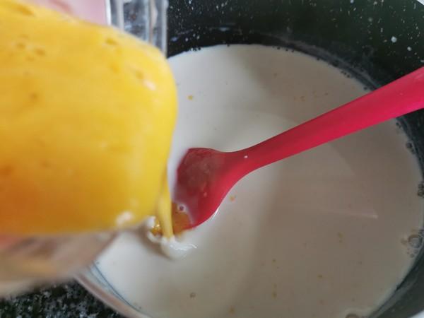 芒果牛奶布丁怎么炒