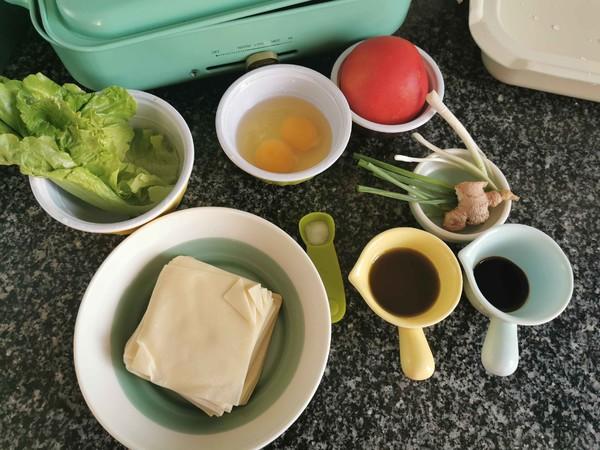 番茄鸡蛋汤面的做法大全
