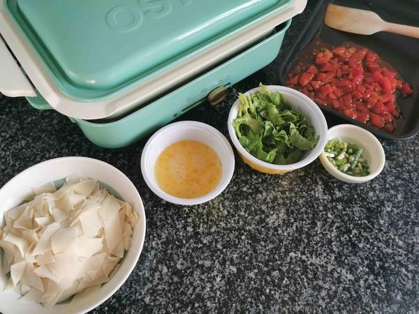 番茄鸡蛋汤面怎么做