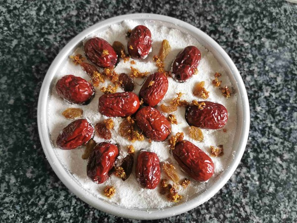 桂花红枣重阳糕的做法大全