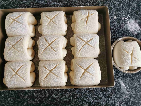 日式牛奶面包的做法大全