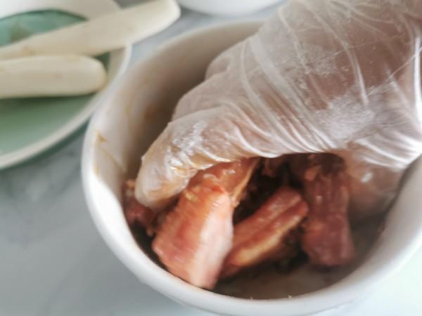小米蒸排骨山药怎么吃