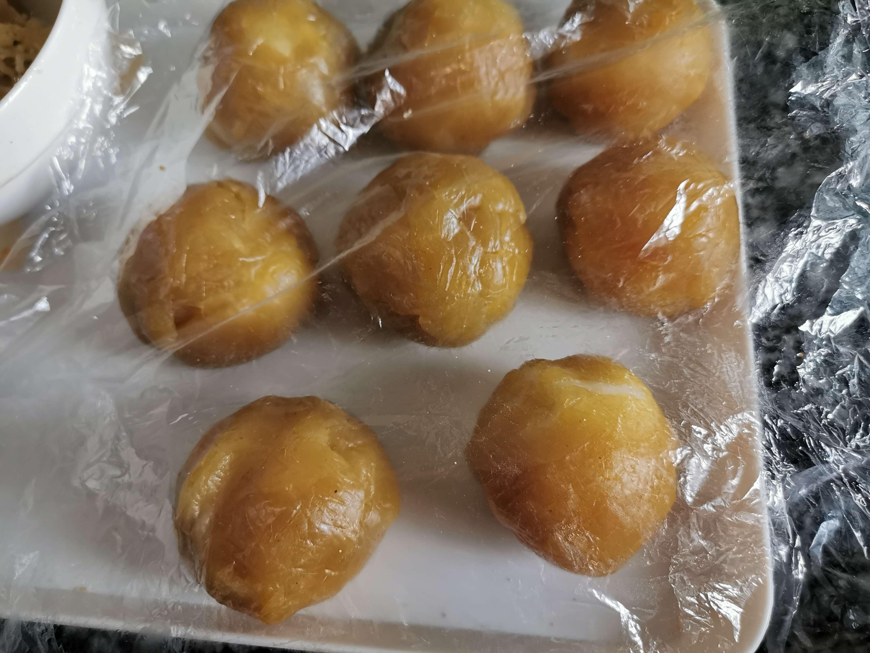 麻薯肉松蛋黄酥怎样煮