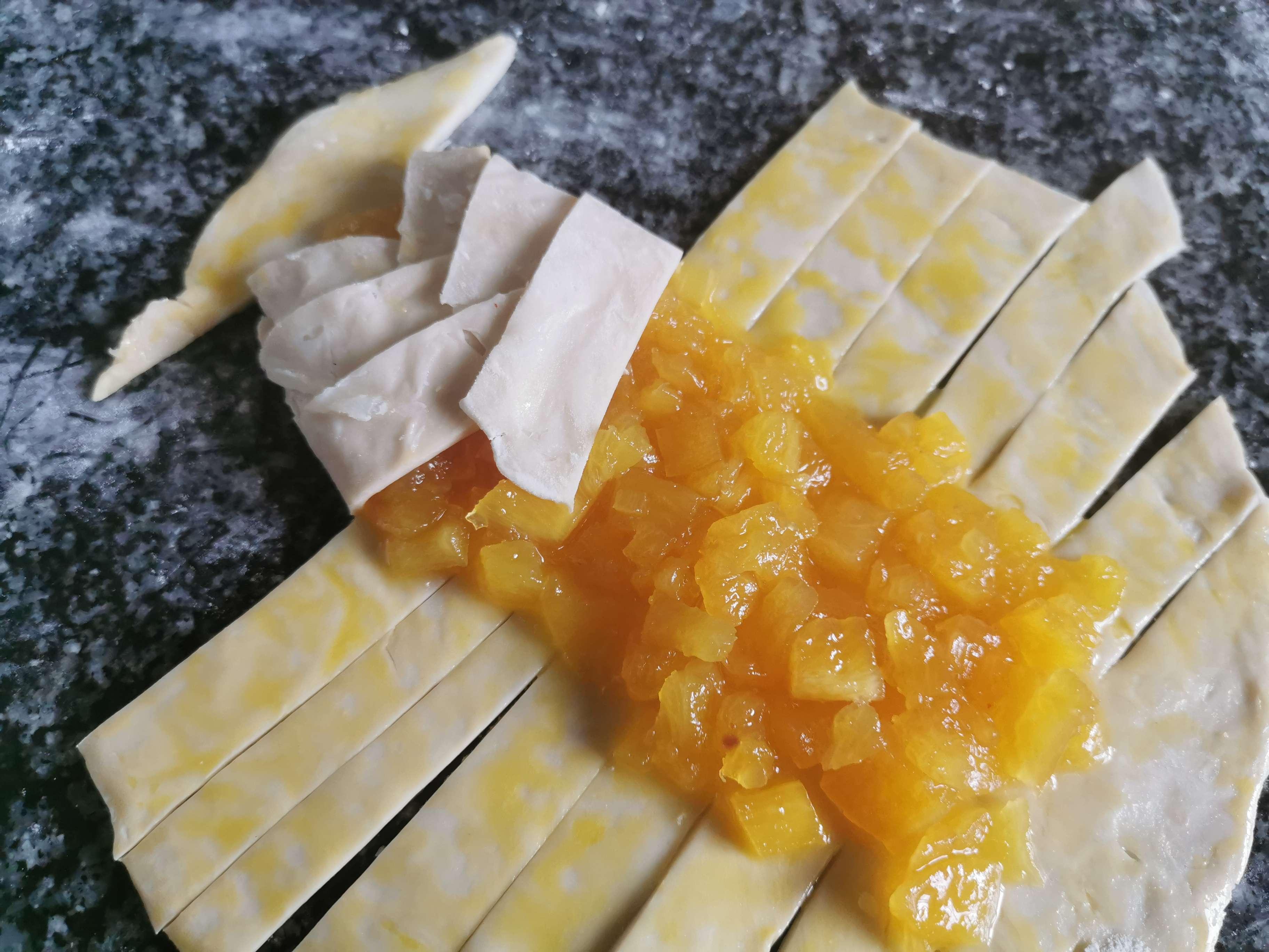 菠萝派的简单做法