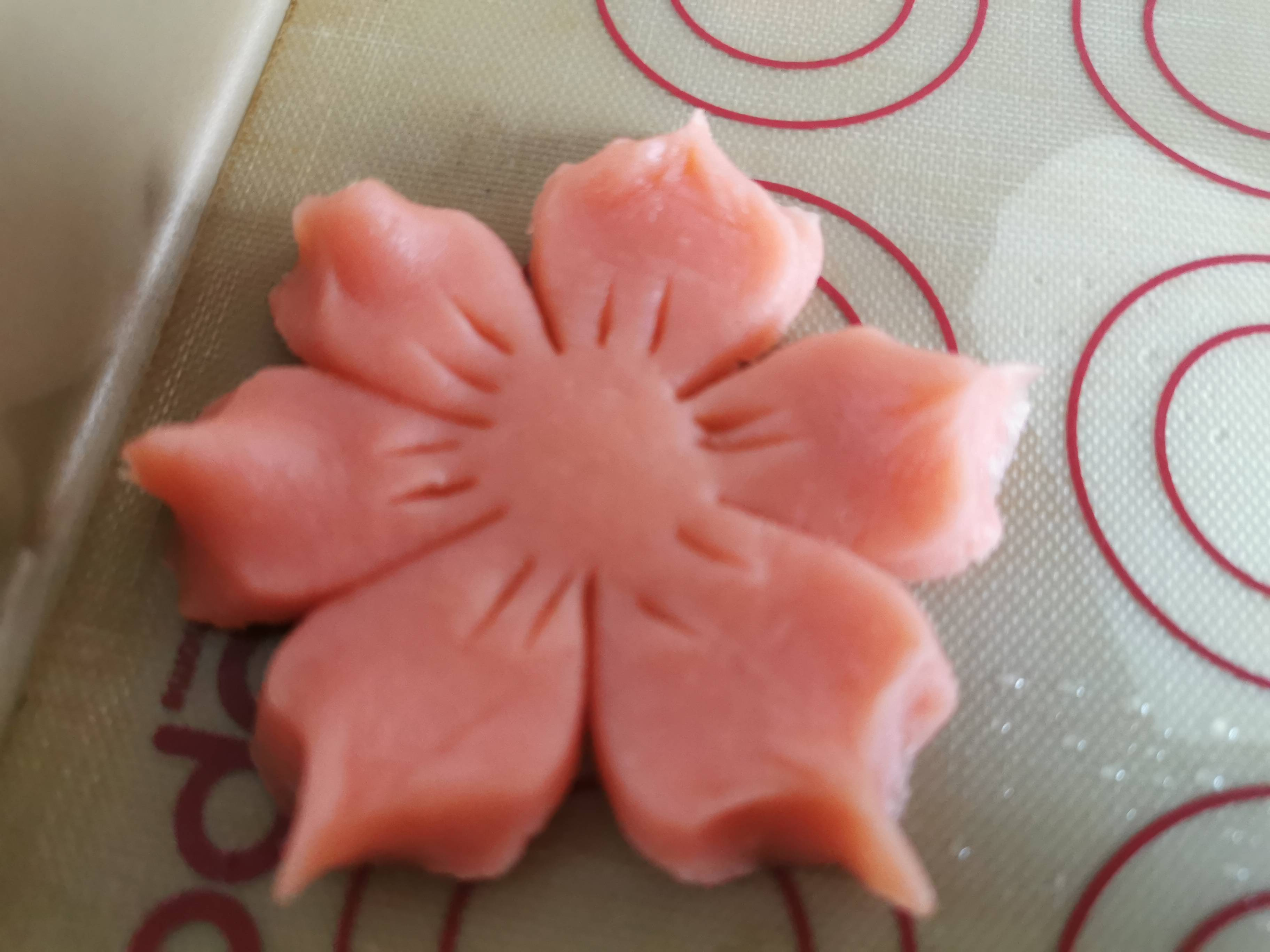 桃花酥黄油饼干版的步骤