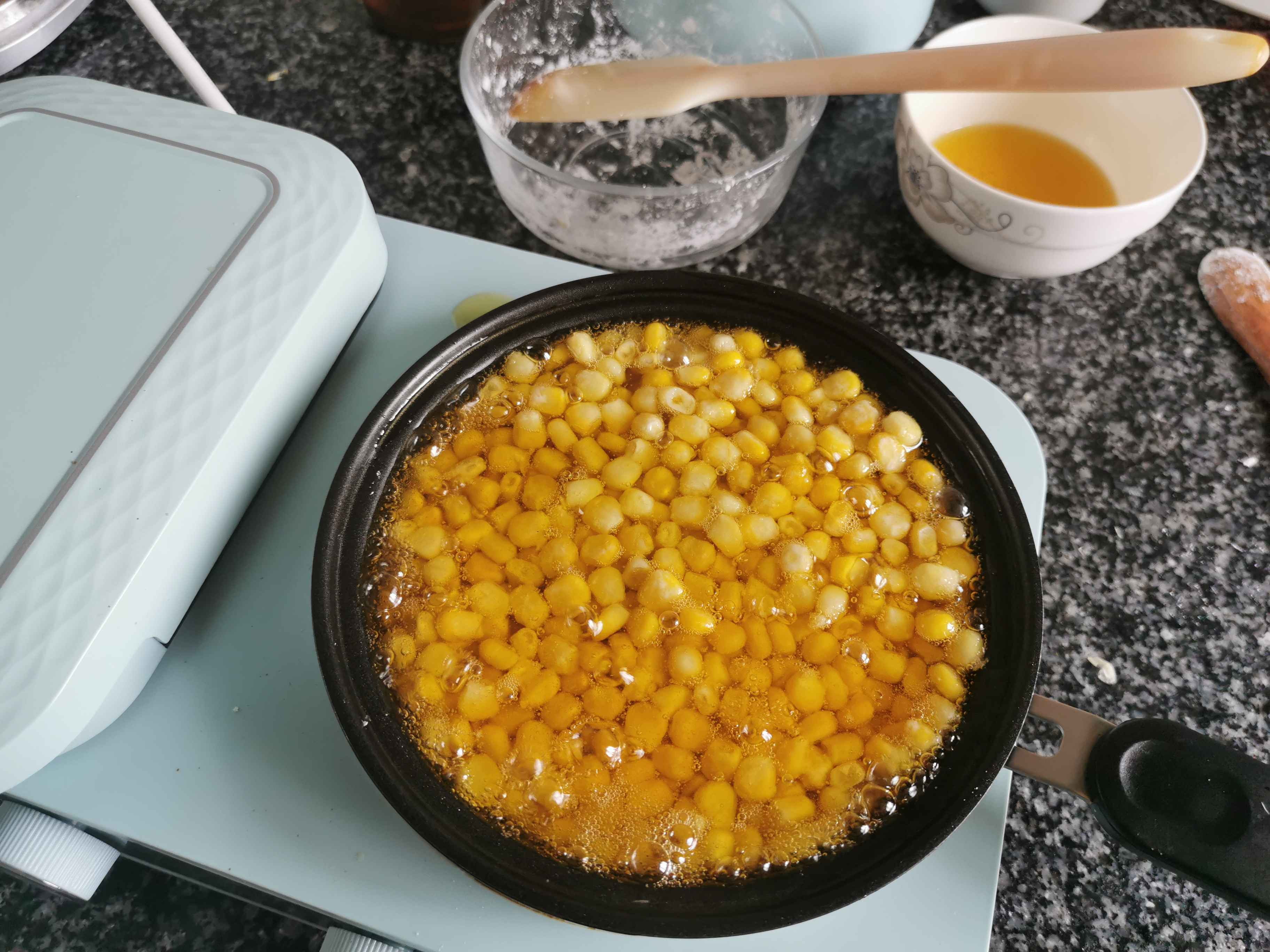 玉米烙的步骤