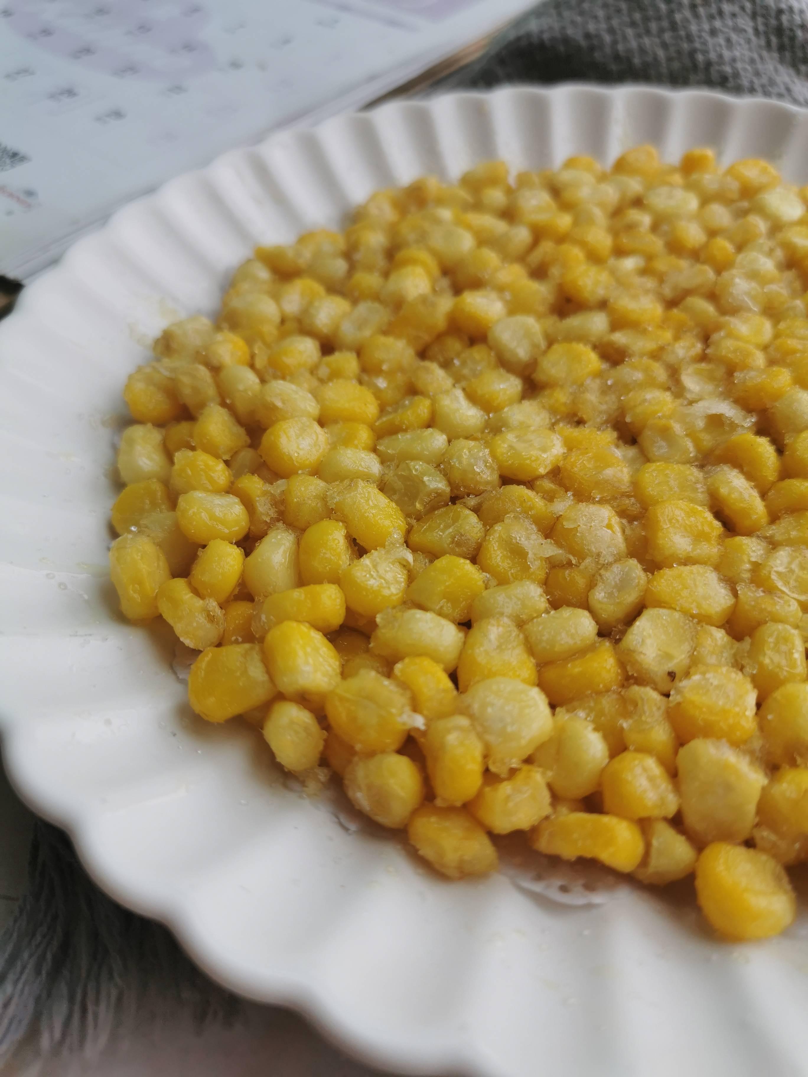 玉米烙成品图