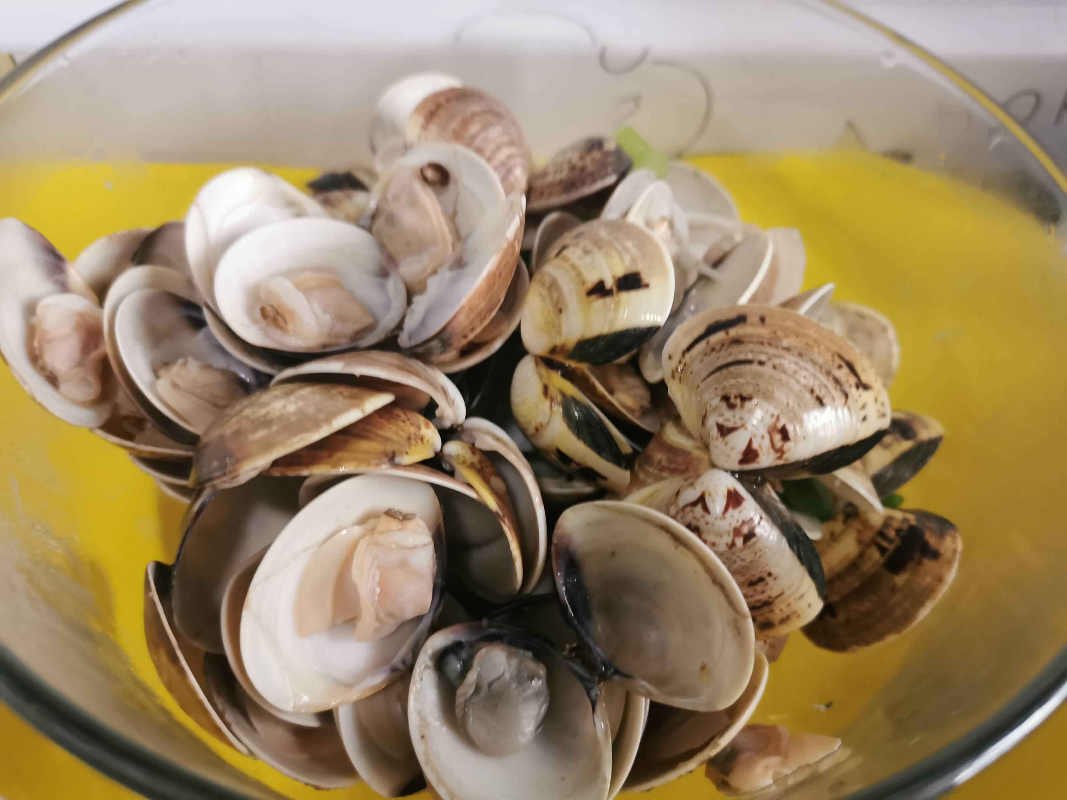 凉拌花蛤怎么吃