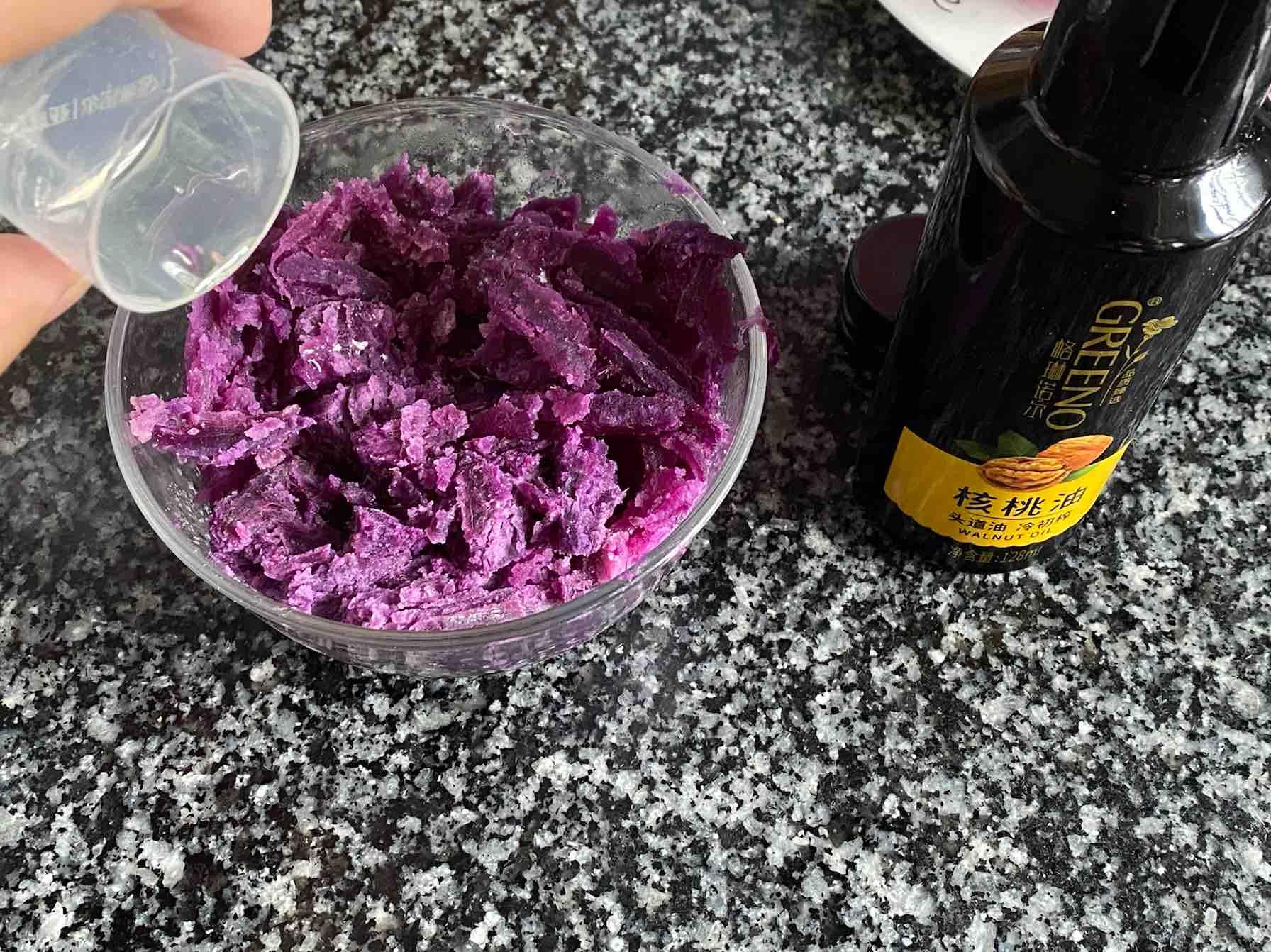 紫薯山药糕怎么炖