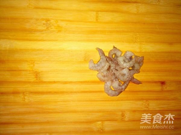 蛋香虾仁香菇怎么炒