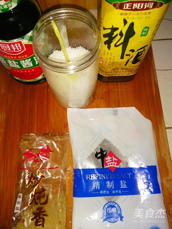 蛋香虾仁香菇的制作方法