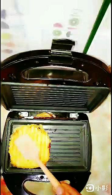 米饭双层馅饼怎么炒