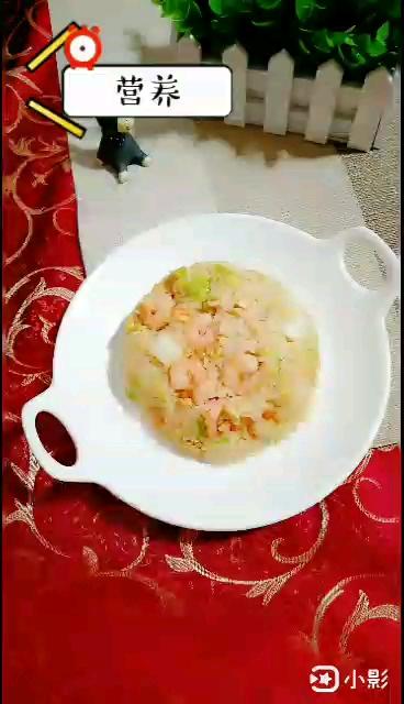 虾仁白菜炒饭怎样做