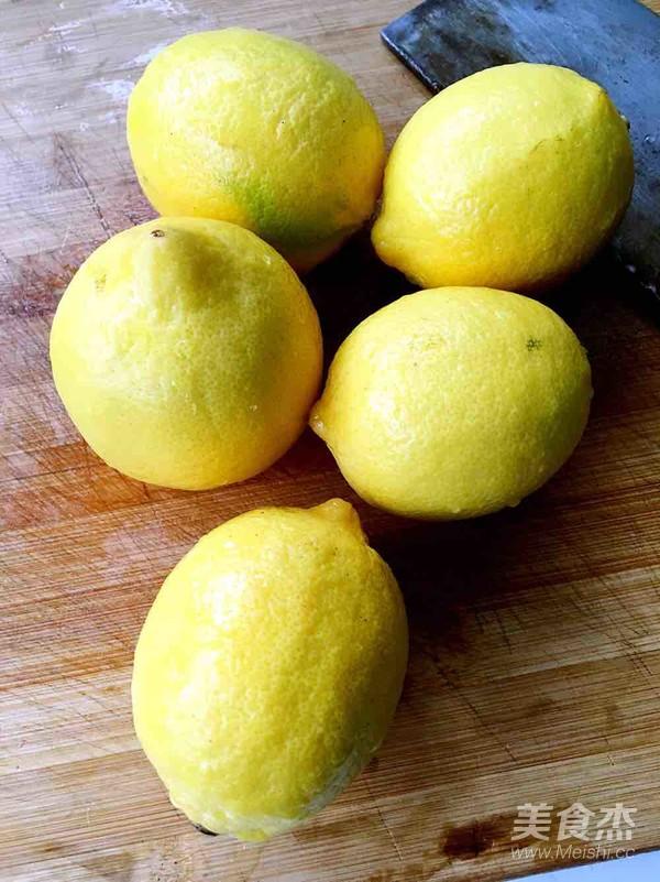 蜂蜜柠檬的做法大全