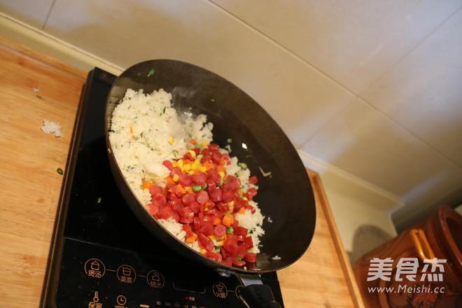 香米扬州炒饭怎么吃