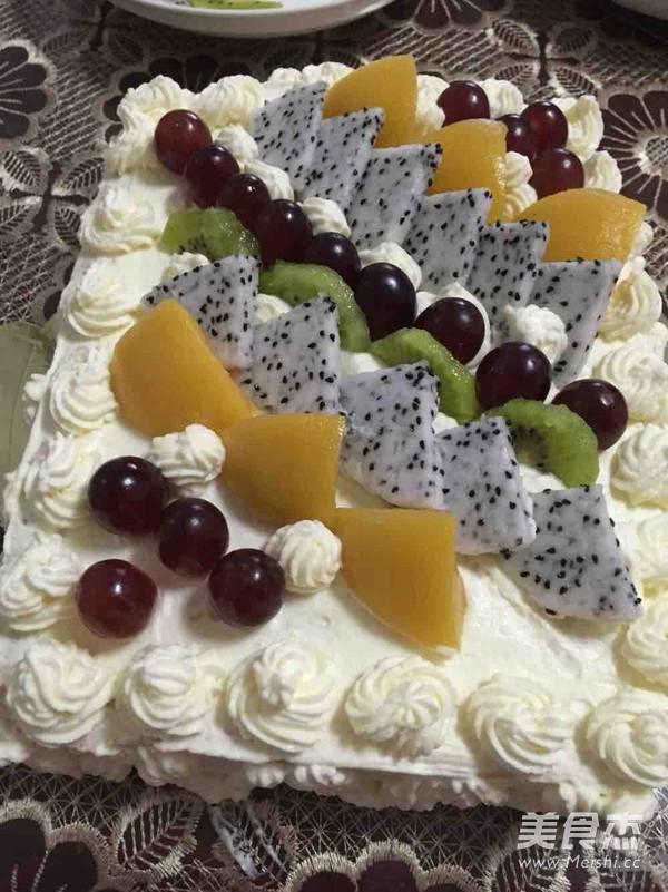 水果生日蛋糕怎样做