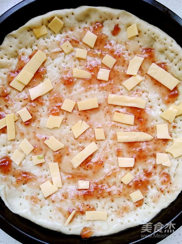 玉米香肠披萨的做法图解