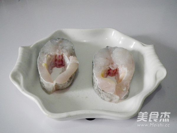 黑胡椒煎澳斑鱼段的家常做法