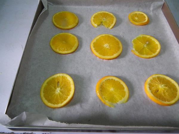 香橙蛋糕的步骤