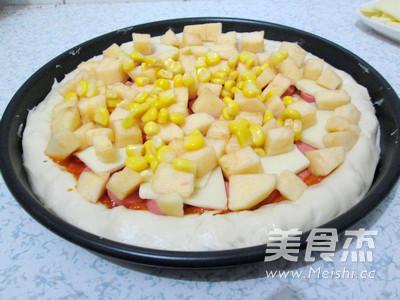 芝心香肠苹果披萨怎样炖