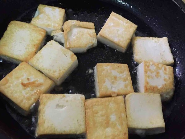丝瓜烧豆腐的家常做法