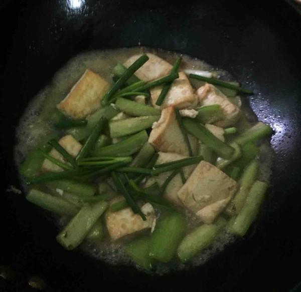 丝瓜烧豆腐怎么做