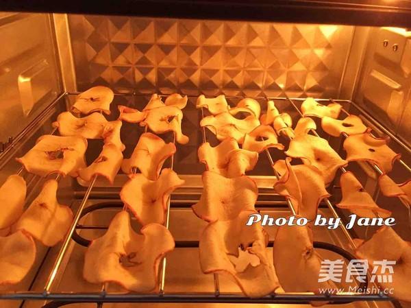 40分钟烤苹果脆片的步骤