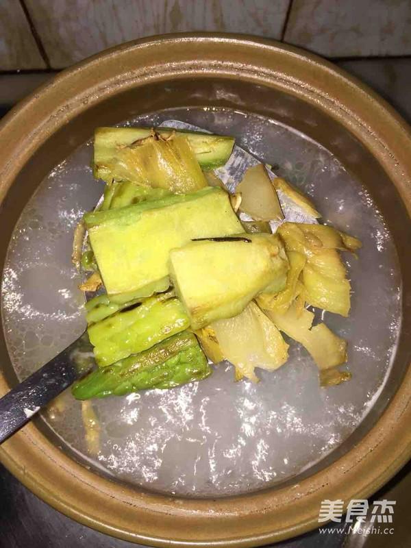 潮州咸菜苦瓜汤怎么做