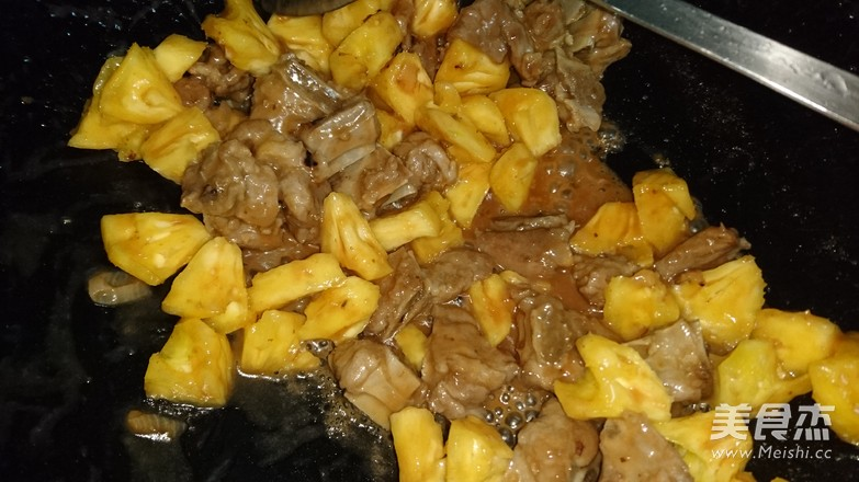 菠萝酸甜排骨怎么炒