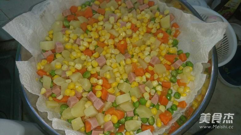 彩色蔬果沙拉的步骤