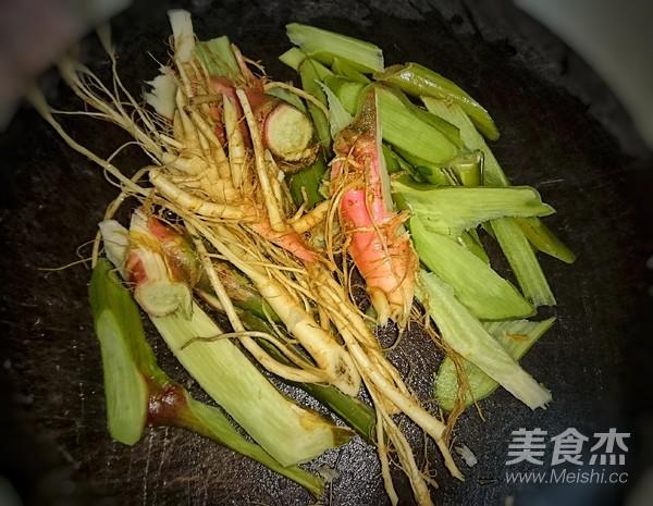 野苋菜头袪湿汤的做法图解