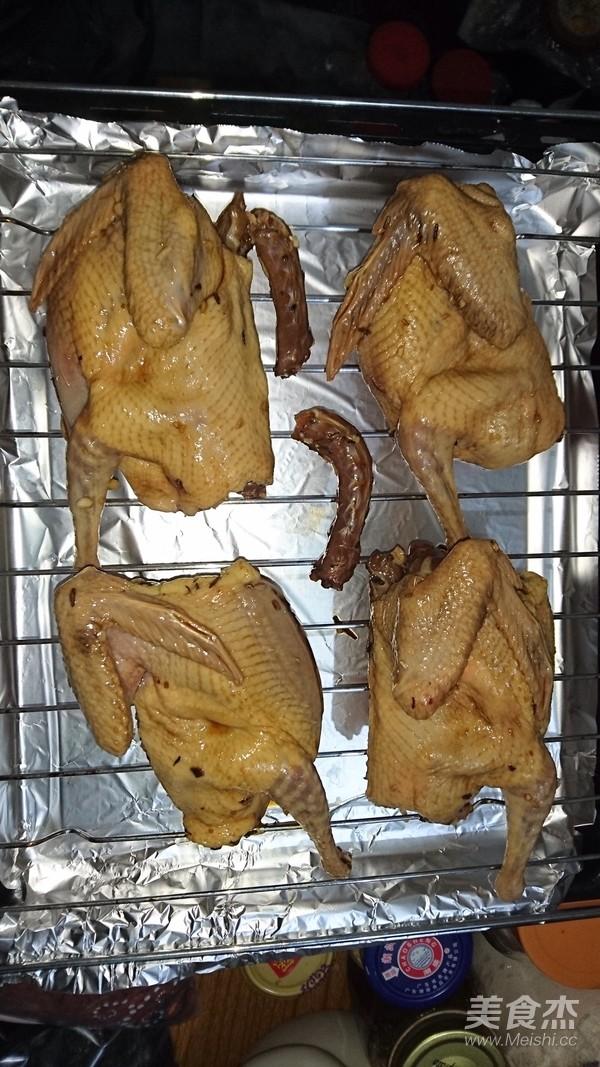 烤乳鸽的步骤