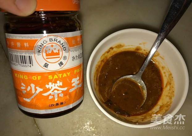 沙茶炒菜花的简单做法