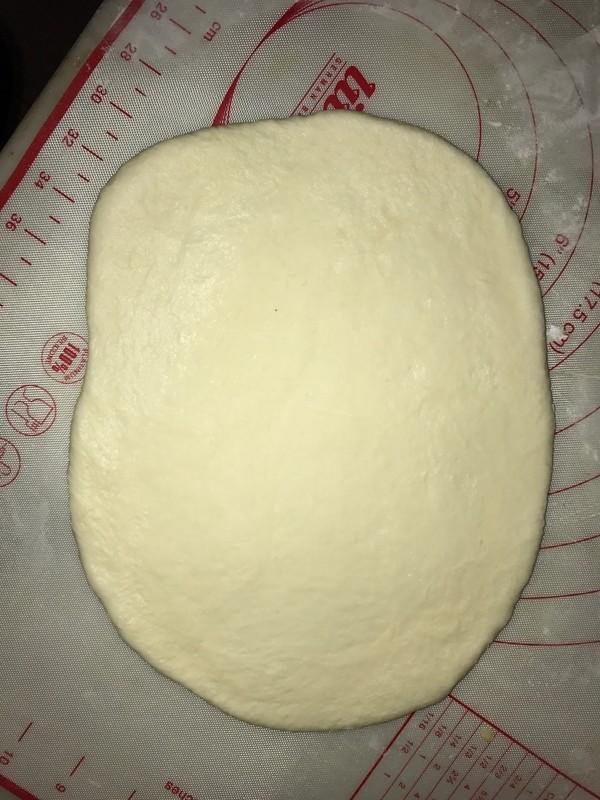 免出膜肉松包的步骤