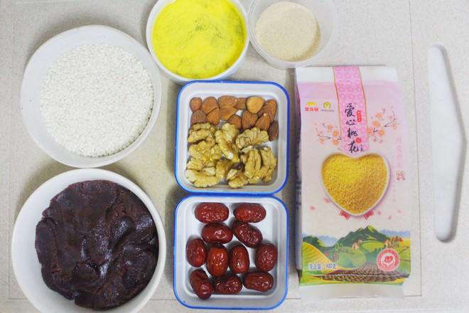 小米八宝饭的做法大全