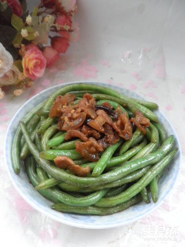 炒龙豆成品图