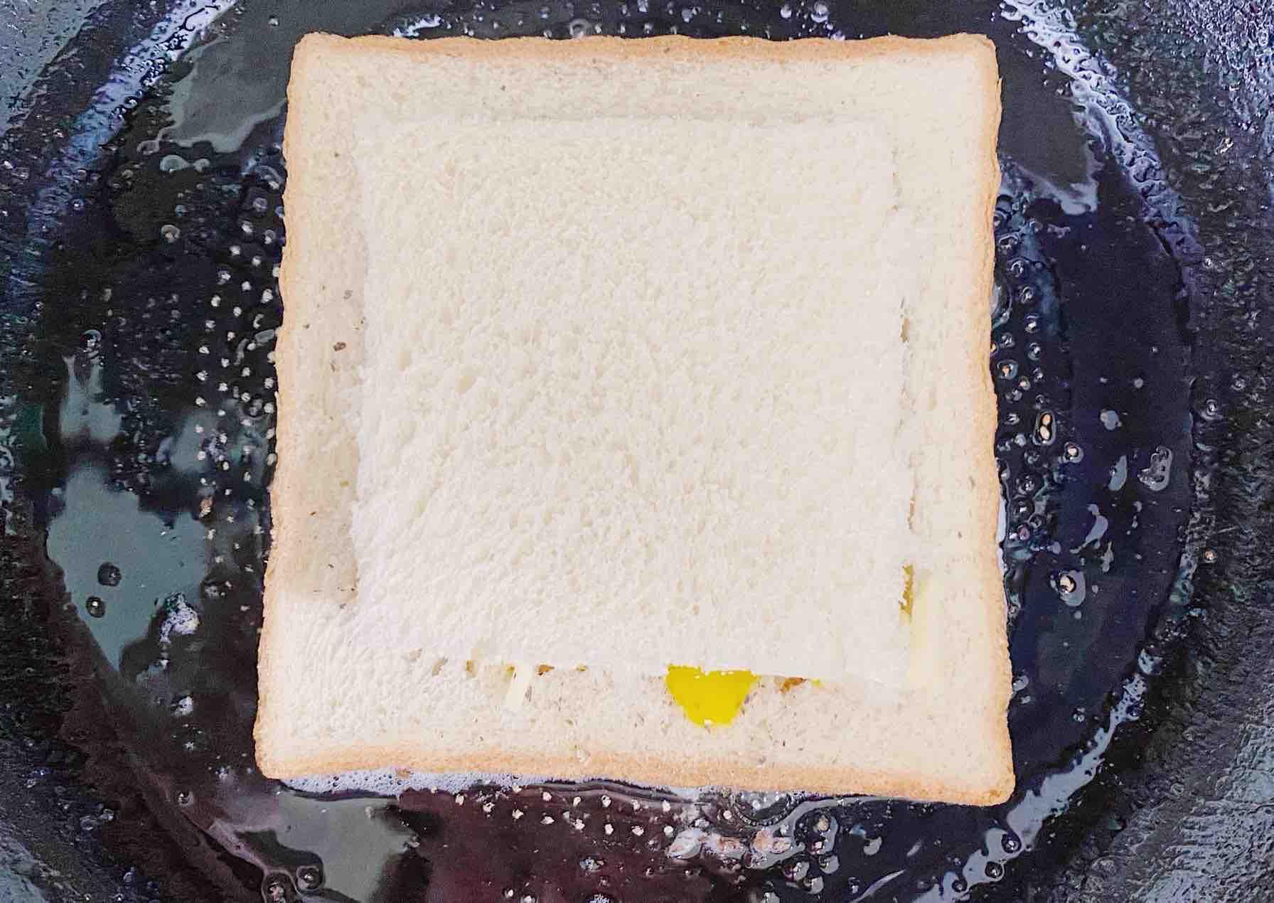 ㊙️食材简单 5分钟脆香芝士吐司怎么做