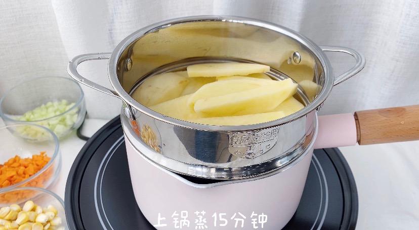 减肥期最佳代餐‼️低卡高颜值土豆泥沙拉的做法大全