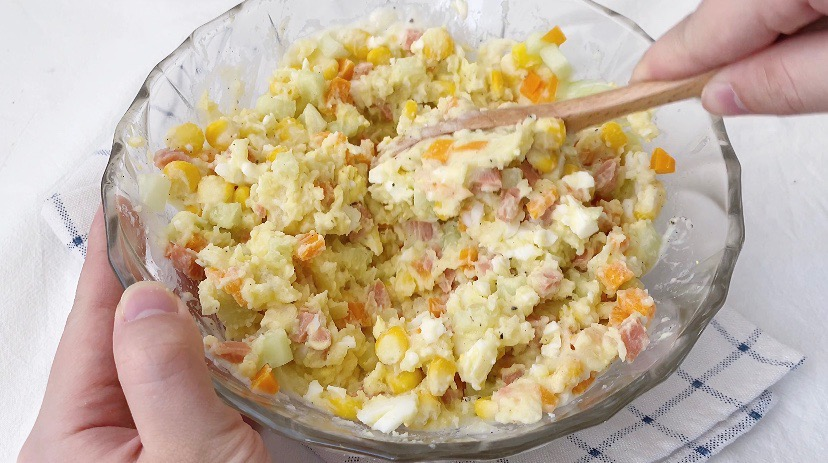 减肥期最佳代餐‼️低卡高颜值土豆泥沙拉怎么煮