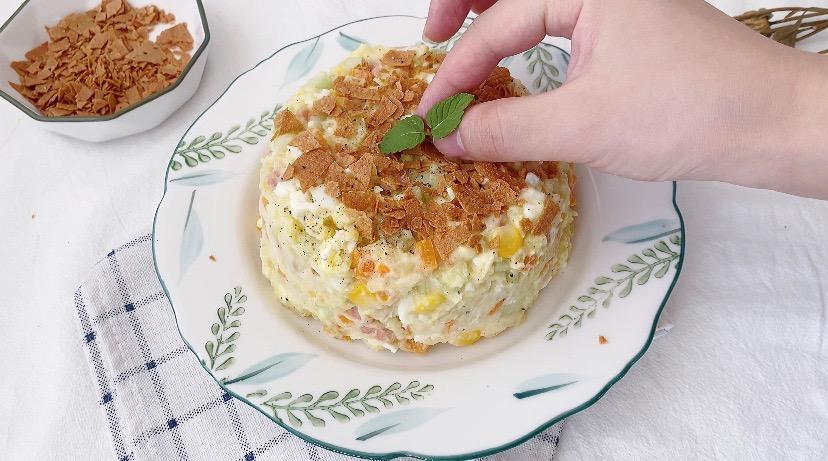 减肥期最佳代餐‼️低卡高颜值土豆泥沙拉怎么煸