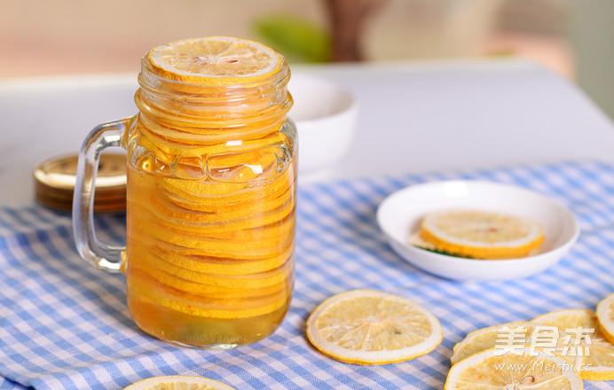 阳光满满的蜂蜜柠檬怎么吃