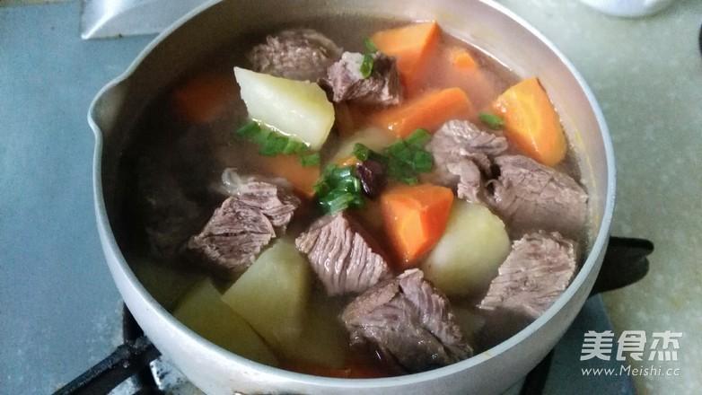 清炖牛肉汤怎样煸