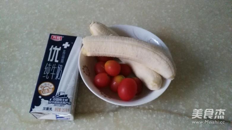 香蕉牛奶的做法大全