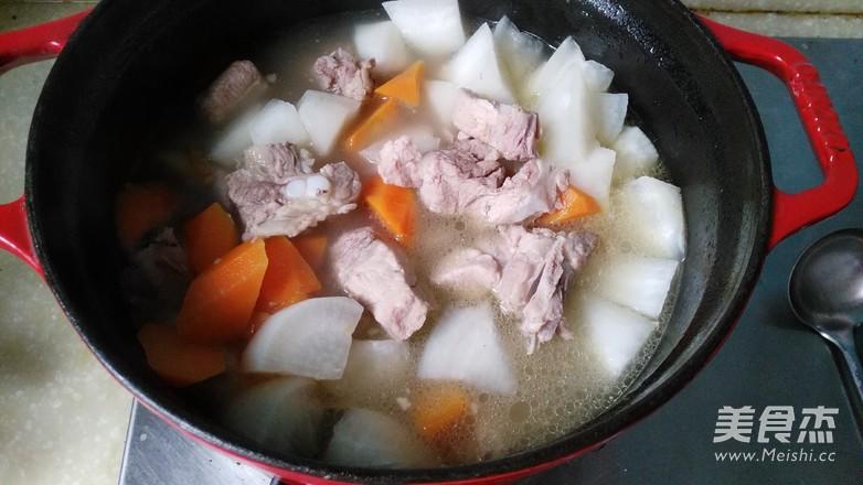 萝卜排骨汤怎么煮