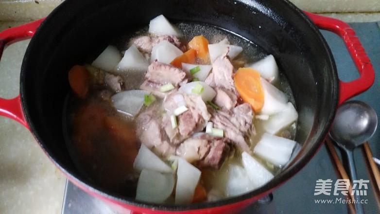 萝卜排骨汤怎么炖