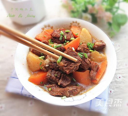 牛肉炖土豆怎样做