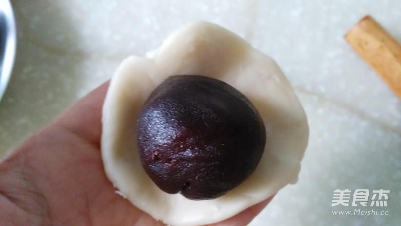 豆沙蛋黄酥的制作方法