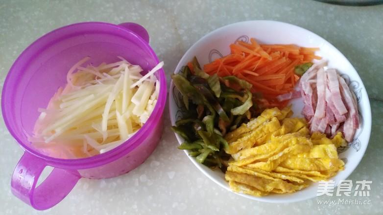 合饼卷菜怎么吃
