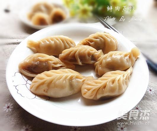鲜肉蒸饺怎样炒