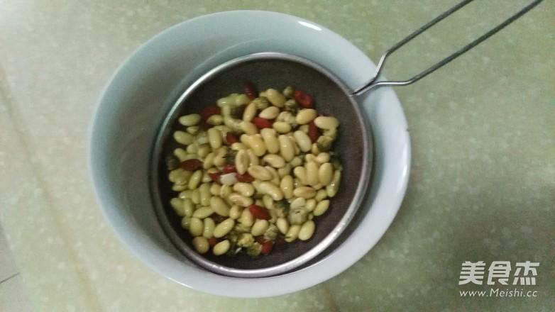 菊花枸杞豆浆的简单做法